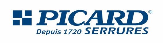 logo de la marque de porte blindée Picard